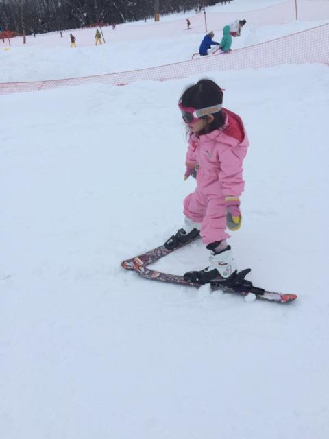 【年少娘もスキーにチャレンジ!】白馬で年末スキー!その2