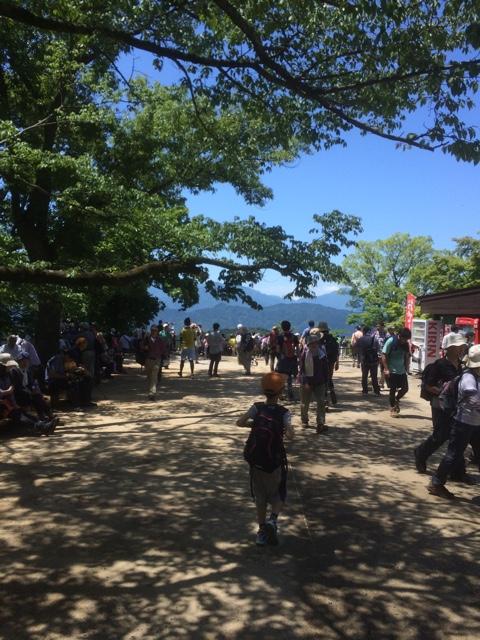 【暑い5月下旬でもさわやか】高尾山登山・年中さんでも十分歩けました!