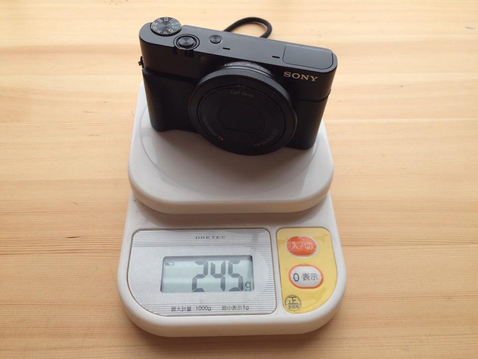 SONYのRX100をブログ用コンデジに!昔のミラーレス一眼と大きさ、重さ、画像を比較してみました。