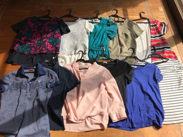 ラクに選べる服の数は?オシャレではないアラフォー女子のクローゼットを全て公開!