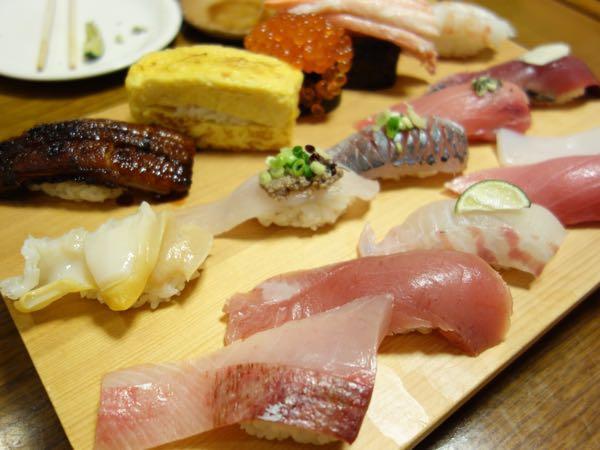 金沢のお寿司