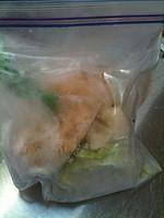 【生で冷凍、そのまま調理のすごワザ便利帳】やってみた♪