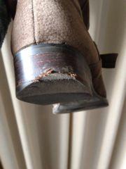 ブーツのかかとが減ってしまった!リアットで見積もり出して修理しました。